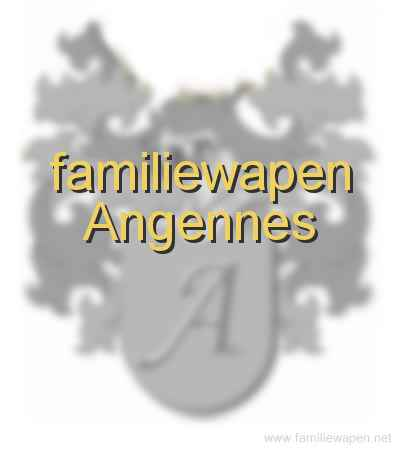 familiewapen Angennes