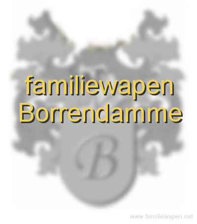 familiewapen Borrendamme