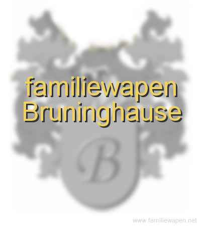 familiewapen Bruninghause