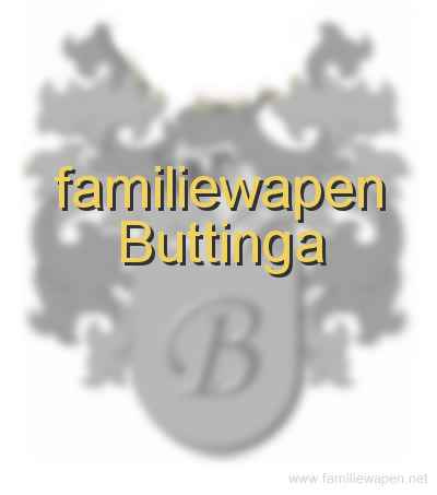 familiewapen Buttinga