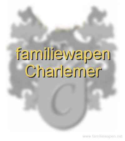 familiewapen Charlemer