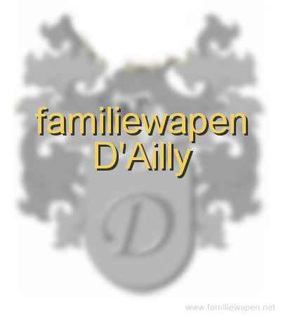 familiewapen D'Ailly