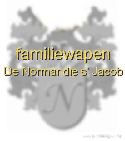 familiewapen De Normandie s' Jacob