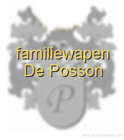 familiewapen De Posson