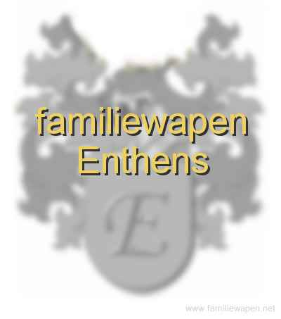 familiewapen Enthens