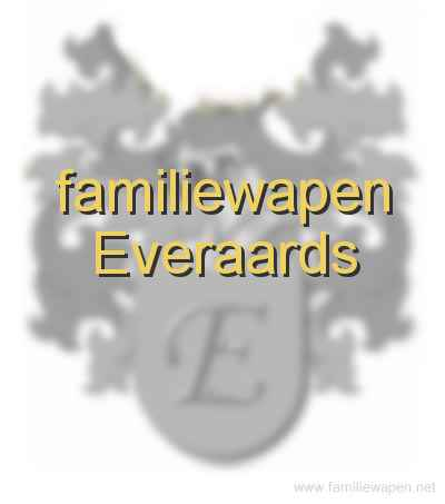 familiewapen Everaards