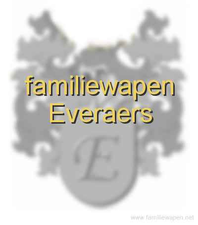 familiewapen Everaers