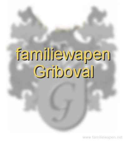 familiewapen Griboval
