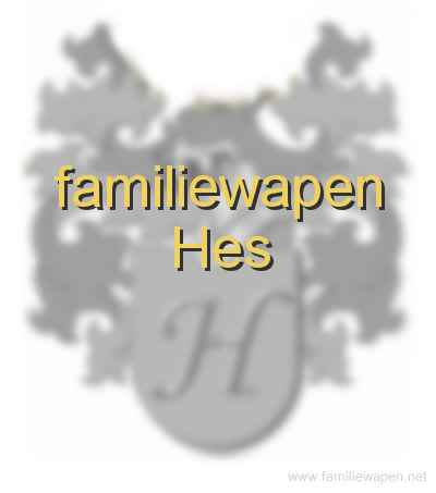 familiewapen Hes