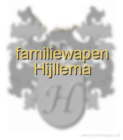 familiewapen Hijllema