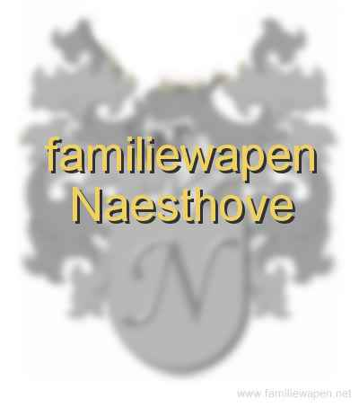 familiewapen Naesthove