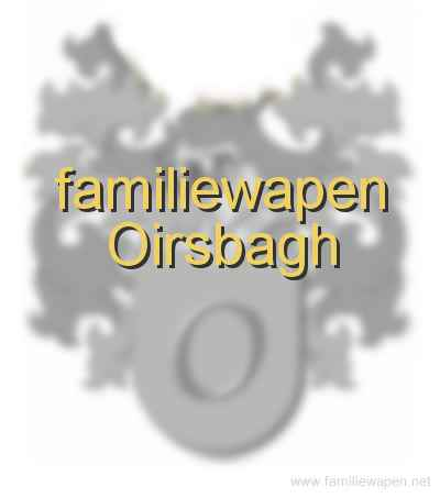 familiewapen Oirsbagh