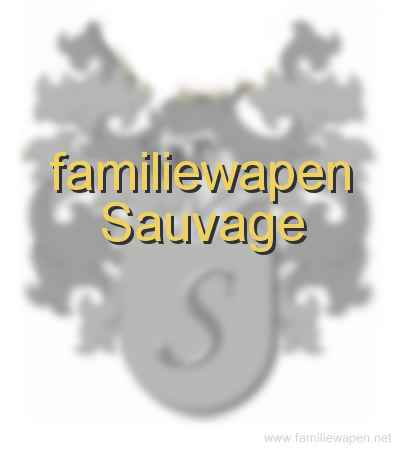 familiewapen Sauvage