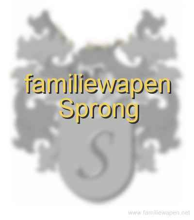 familiewapen Sprong