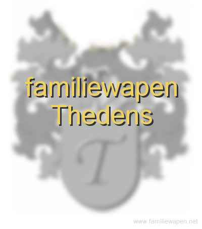 familiewapen Thedens
