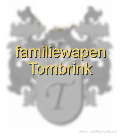 familiewapen Tombrink