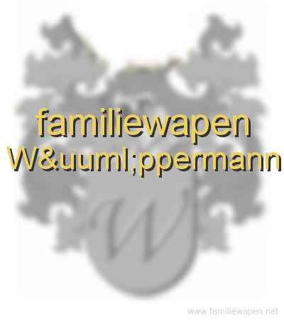 familiewapen Wüppermann